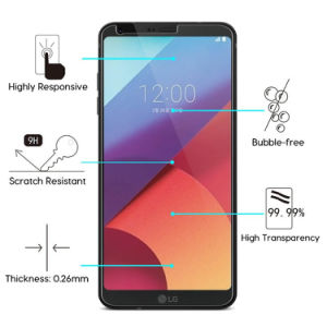 G6 Mobile Phone Accessories Tempered Glass Screen Protector, Ultra Clear Tempered Glass Screen Protector for LG, LG G6 pictures & photos