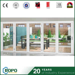 Custom PVC Bifolding Glass Doors From China Factory pictures & photos