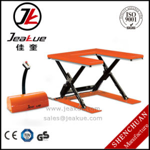 """U"" Shape Electric Lift Table Capacity 600kg-2000 Kg pictures & photos"