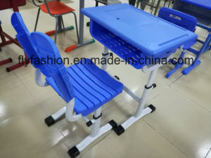 Classroom Furniture Kids Plastic Desk with PP Chair pictures & photos