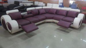 Orange Modern Sofa with Corner Living Room Sofa pictures & photos