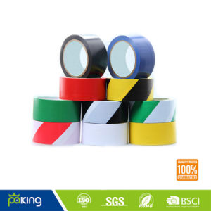 Multicolor Caution PVC Warning Floor Marking Tape pictures & photos