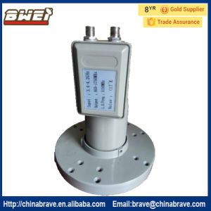 High Gain High Quality C Band LNB Two Output V/H Separate pictures & photos