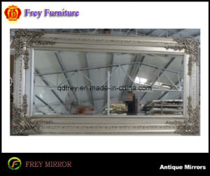 Hot Sale Woodenwall Mirror Frame with Antique Design pictures & photos