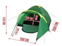 190t Polyester 4 Persons Camping Tent (EZ-005) pictures & photos