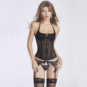 Best Quality Overbust Halter Waist Trainer Corset Wholesale pictures & photos