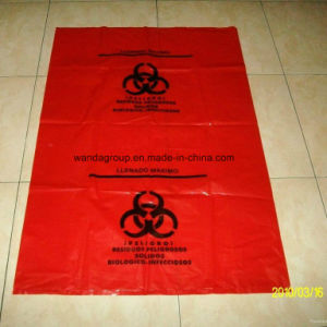 Customized Plastic Biohazard Garbage Bag with Printing pictures & photos