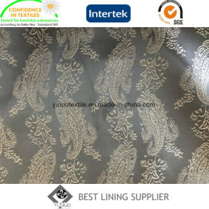 55% Polyester 45% Viscose Men′s Suit Jacquard Lining Fabric Supplier pictures & photos