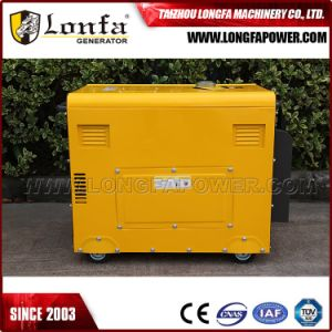Unit Power 50Hz 7kVA 7kw Soundproof Power Diesel Generator Set pictures & photos