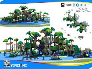 2017 New Design Children Outdoor Playground with Slide Combined with Climbing (YL-T079) pictures & photos