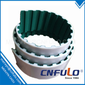Open Ended PU Timing Belt with Green Cloth, At10 pictures & photos