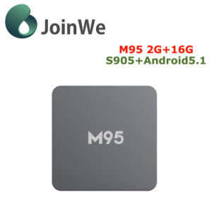 M95 2g+16g Amlogic S905 Smart TV Box pictures & photos