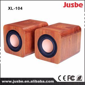 XL-104 Multimedia Desk Speaker Wooden Case DJ Sound Speaker pictures & photos