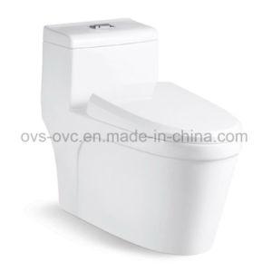Bathroom One Piece Ceramic Toilet Bowl pictures & photos