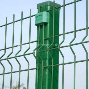 PVC Coated Security Protected Fence/Wire Mesh Fence pictures & photos