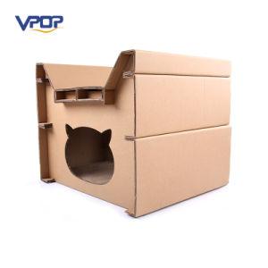 Paper Animal Furniture Comfortable Cardboard Cat Scratch House