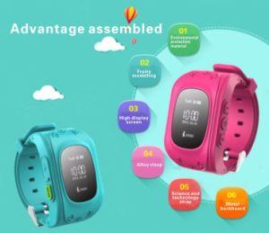 Sos GSM GPS Children Kid Tracker Position Watch Sport Smart Phone Watch for Elder Children pictures & photos