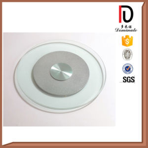 Unbreakable High Quality Round Clear Glass Lazy Susan (BR-BL014) pictures & photos