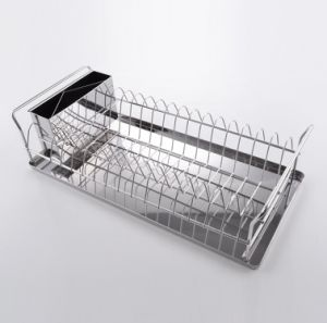 Kitchen Dish Rack High Quality Durable Stainless Steel Kitchen Dish Drying Rack pictures & photos