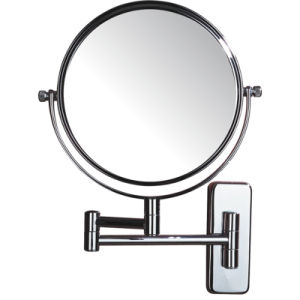 Plain Double Side Hotel bathroom Wall Mounted Magnifying Mirror pictures & photos