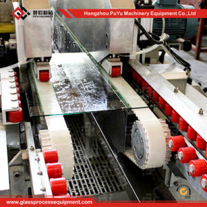 Glass Straight-Line Double Edging Machine with High Polishing pictures & photos