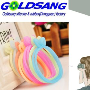 Multifunctional Silicone Rubber Hair Rope pictures & photos