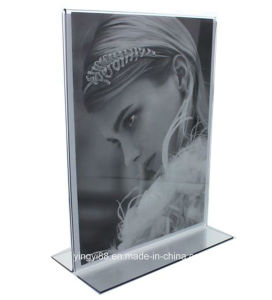"""8.5"""" X 11"""" Tabletop Acrylic Photo Display Frame pictures & photos"""