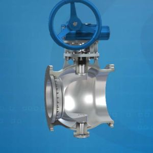 Double Eccentric Semi-Ball Valve Used in Steel Industry pictures & photos