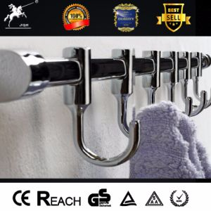 Movable Coat Hooks Stainless Steel Bathroom Accessories Robe Hook pictures & photos