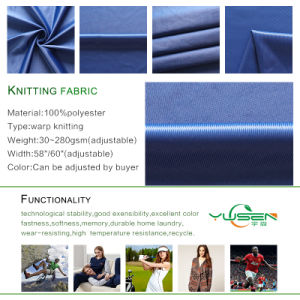 100% Polyester Microfiber Tricot Brushed Fabric for Sheet pictures & photos
