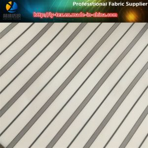 Grey Lines, White Ground Men Suit Sleeve Lining Textile Fabric (S119.127) pictures & photos