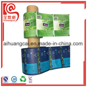 Customized Logo Printing Paper Film Roll for Automatic Packaging Bag pictures & photos