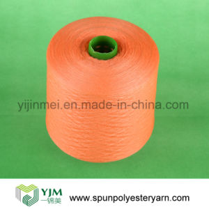 Polyester Ring Spun Dope Dyed Yarn for Knitting and Weaving pictures & photos