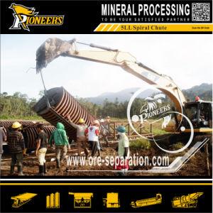 Gravity Spiral Separator Ilmenite Mining Concentration Spiral Chute Manufacturer