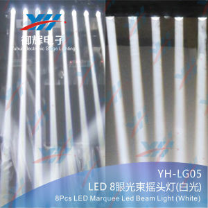 Linear 8*10W White LED Beam Light for DJ Clubs Stage Show Lighting pictures & photos