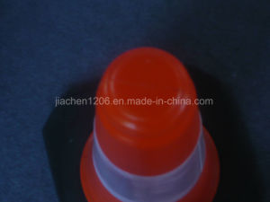 PE 750mm Factory Direct High Quality Rubber Base Traffic Cone pictures & photos
