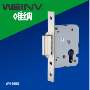 Stainless Steel Sliding Door Lock Body 50mm pictures & photos