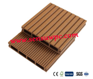 Sensu Hot Sale Hollow WPC Decking pictures & photos