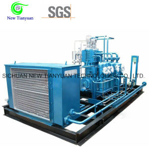 Small Scale Vertical Type Motor Driving CNG Natural Gas Compressor