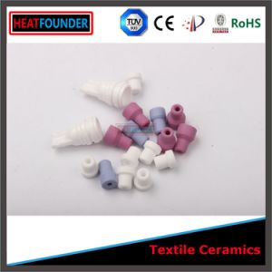 Industrial Alumina Textile Ceramic Eyelets pictures & photos