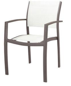 Modern Textilene Chair for Outdoor Using (LN-1065) pictures & photos