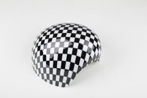 Auto-Parts Small Checker Color Mirror Covers for Mini Cooper R56-R61