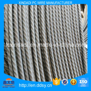 6mm Wire of Iron or Non Alloy Steel with Spiral Ribs