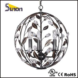 Ball Shaped Iron Black Pendant Lamp pictures & photos