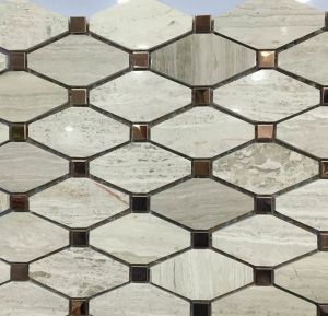 Special New Design Marble Stone Mosaic for Wall&Floor (VMM3S008) pictures & photos