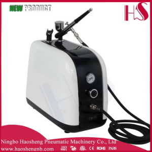 HS-386k Very Popular Product Airbrush & Compressor Kit Dual-Action Spray Air Brush Set Tattoo Nail Art Hobby pictures & photos