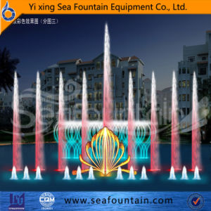 Professional After Service Multimedia Music Fountain with Water Screen Movie Fountain pictures & photos
