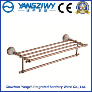 Modern Bathroom and Shower Clothes Wall Mounted Stainless Steel Towel Rack pictures & photos