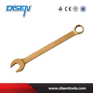 Hand Tools Gold Plated Double Open End Wrench pictures & photos