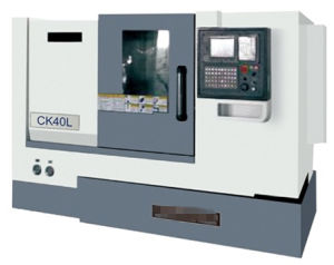 High Precision Professional CNC Lather (with slanting rail 45°) pictures & photos